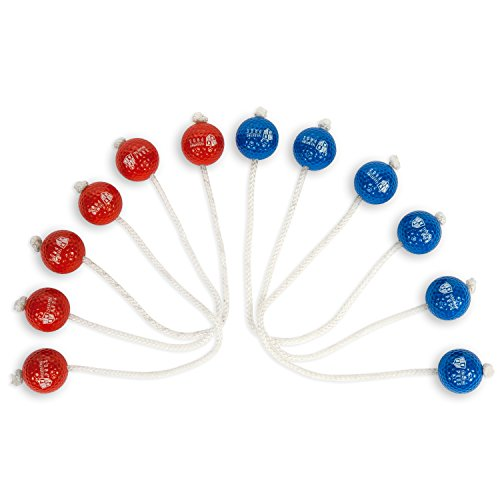 Tailgating Pros Premium Replacement Bolo Set with Real Golf Balls for Ladder Toss by Tailgating Pros