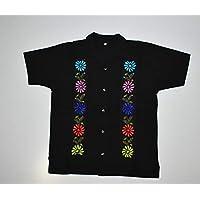 Guayabera para hombre, camisa artesanal para hombre, camisa bordada artesanal, camisa oaxaqueña de hombre, camisa de playa hombre