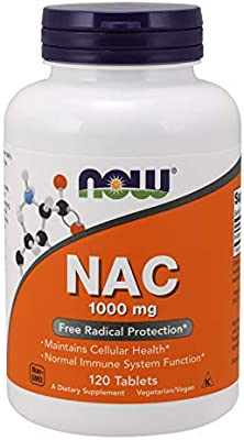 Now Supplements, N-Acetyl-Cysteine 1000 mg, 120 Count