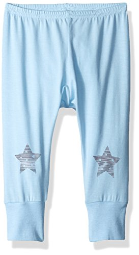 tar Jersey Knit Cotton/Modal Legging, Powder Blue, 9 Months ()