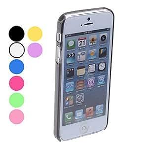 Simple Design Bumper Case for iPhone 5/5S (Assorted Colors) Lightning Sale --- COLOR:Purple