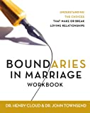 img - for Boundaries in Marriage Workbook book / textbook / text book