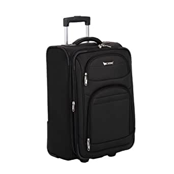Delsey Luggage Helium Quantum Trolley, Black, One Size