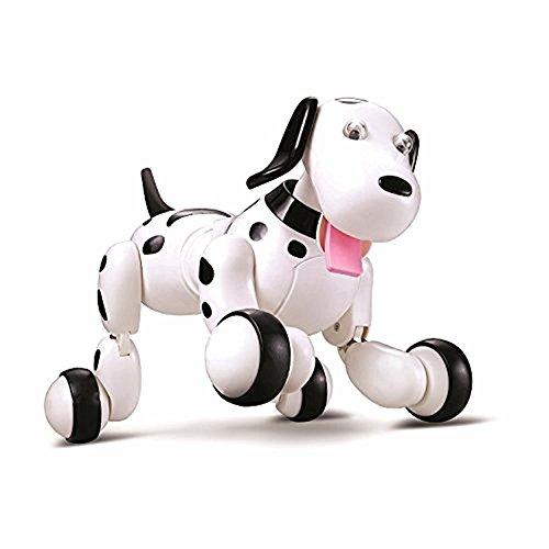 New launch Lemonda Robotic Canine,Wi-fi Distant Management Canine Good Canine Digital Pets Interactive Pet Toy Canine For Children, Kids,Ladies, Boys-Black