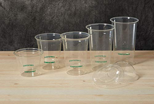 Eco Guardian 9 Ounce PLA Compostable Cold Cup, Clear, 1000 pack by Eco Guardian (Image #6)