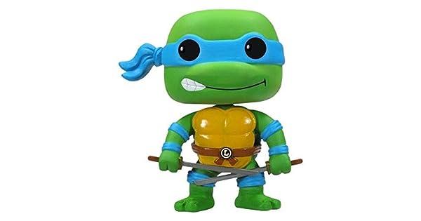 Amazon.com: Funko POP Television TMNT Leonardo figura de ...