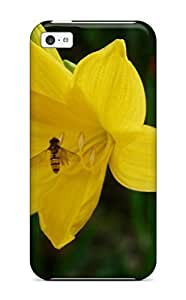 MMZ DIY PHONE CASEPremium Iphone 5c Case - Protective Skin - High Quality For Yellow Flowers