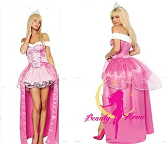 d5c30dcf75a68 眠れる森の美女 オーロラ姫 衣装 コスチューム レディース