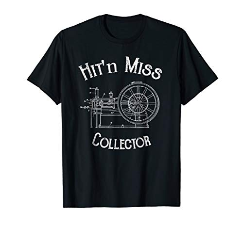 Collectors Engine - Hit and Miss Engine Collector T-Shirt