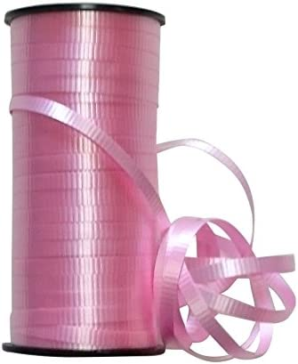 SWEET PARTY【風船 リボン】バルーンリボン 100ヤード 約91メートル 全10色 (レッド)