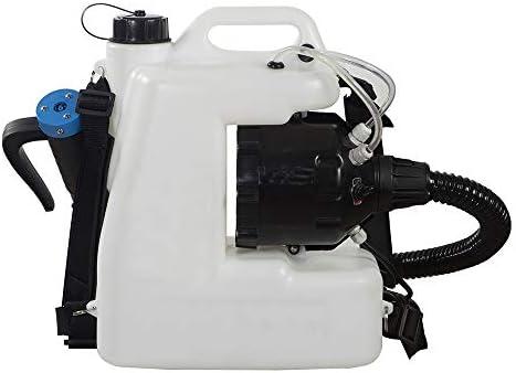 12L電気バックパックフォガーULVスプレーヤーポータブルフォガーマシン農業バックパック冷たい霧病院ステーション用超容量スプレーマシン