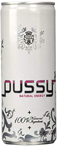 Pussy Natural Energy Drink, 8.4 Ounce (pack Of 24)
