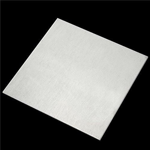 2x100x100mm Titanium Plate Sheet TA2/GR2 Sheet by BephaMart