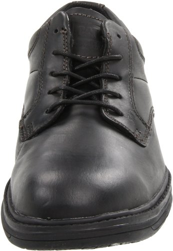 Caterpillar Mens Oversee Puntale In Acciaio Oxford Nero