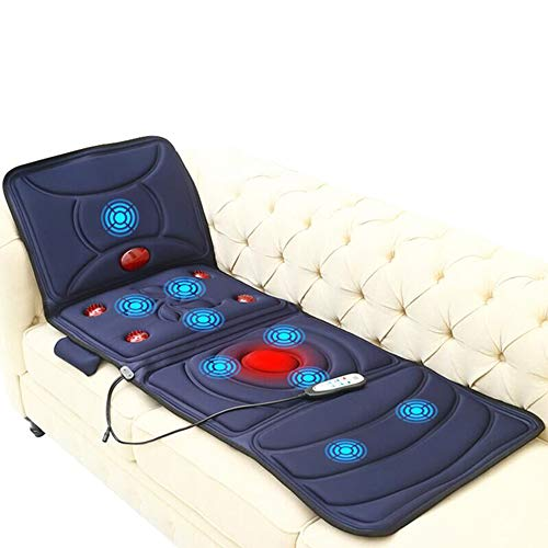 TXqueen Shiatsu Neck & Back Massager with Heat, Full Back Kneading Shiatsu or Rolling Massage, Massage Chair pad Relieve Muscle Pain for Back Shoulder and Neck