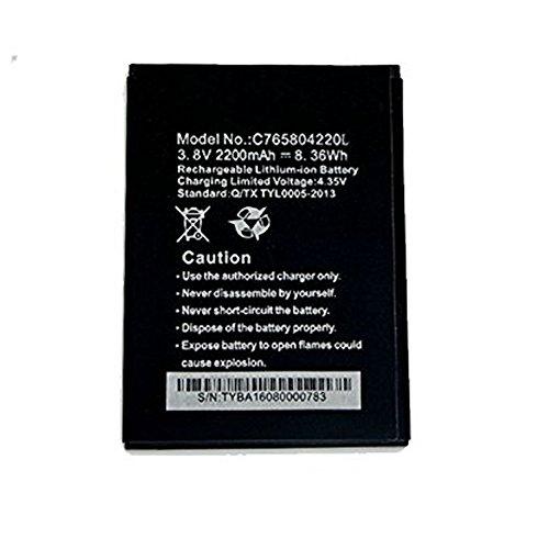 (UoUo ~ Battery For BLU W510U Win HD C765804220L 2200mAh Replacement BLACK COLOR)
