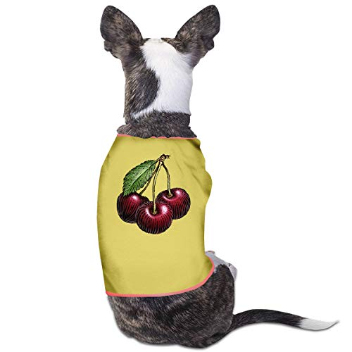 Agilitynoun Dog T-Shirt Clothes Cherry Doggy Puppy Tank Top Pet Cat Coats Outfit Jumpsuit Hoodie