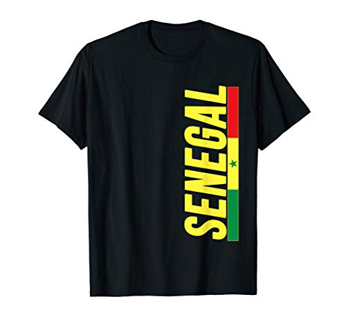 SENEGAL T-shirt Im Senegalese I Love Senegal Flag Gift - Colors Flag Senegal