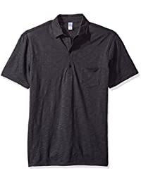 Alternative Men's Washed Slub Fairway Polo