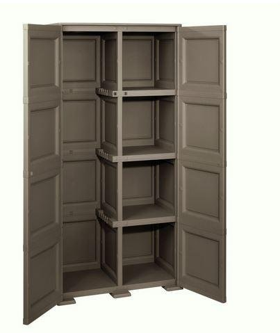 Superior Ideapiu IDEA LIBRERIE .IN RESINA ARMADIO PORTASCOPE DA ESTERNO 79X43X H 164  IN RESINA,
