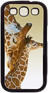 Baby Giraffe Theme Case for Samsung Galaxy S3 I9300 PC Material Black