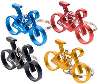 BESPORTBLE 4 llaveros Mini Bicicleta con Personalidad, Llavero ...