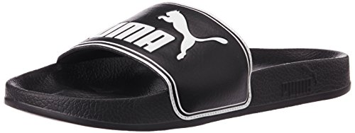 Puma Unisex Adults Leadcat Low Top Slippers Black Peacoat white 5 UK
