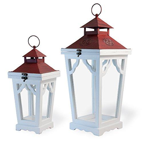 Boston International Decorative Lanterns, Set of 2, Festive Streetlamp by Boston International