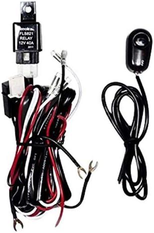 Amazon Com Universal Fog Light Wiring Kit For H3 Type Bulbs Everything Else
