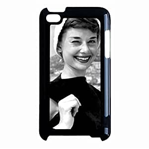 Audrey Hepburn mobile cover case for Ipod Touch 4th Generation Exquisite Funny Style