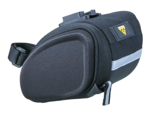 Topeak SideKick Wedge Seat Bag, Black, Medium