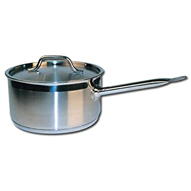 Winware Stainless Steel 6 Quart Sauce Pan with Cover