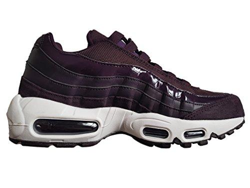 Max Air Wine 95 Nike Port Shoes Bordeaux White Women's UOSWwxq