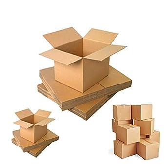 Cajas de embalaje de cartón para mudanza, cajas de gran resistencia, 16x16x16