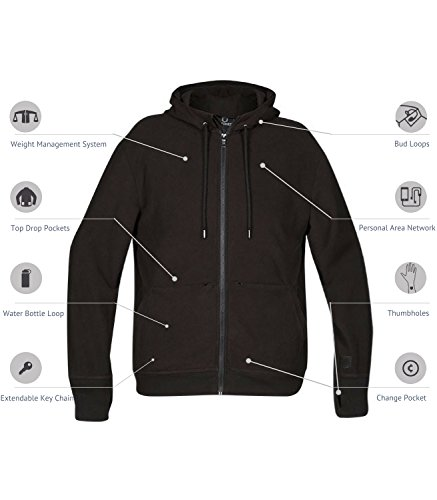 SCOTTeVEST Hoodie Microfleece - 19 Pockets - Small by SCOTTeVEST (Image #1)