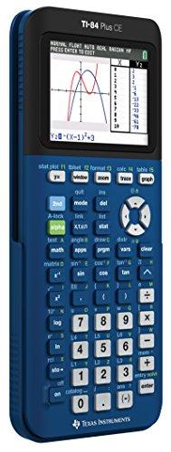 Texas 84 Plus CE Denim Graphing Calculator