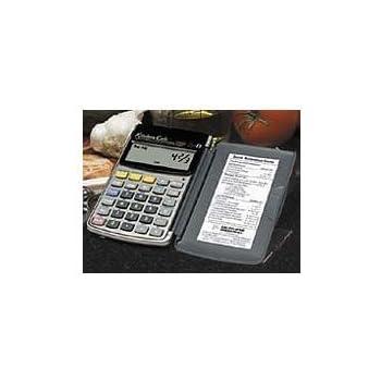 KitchenCalc Handheld Kitchen Calculator With Timer.