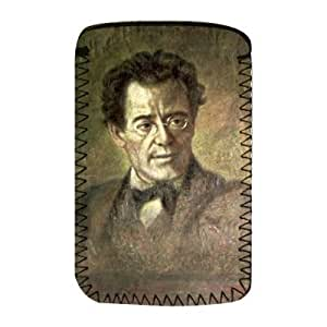 Gustav Mahler (1860-1911) by Anton Wagner - Protective Phone Sock - Art247 - Standard Size