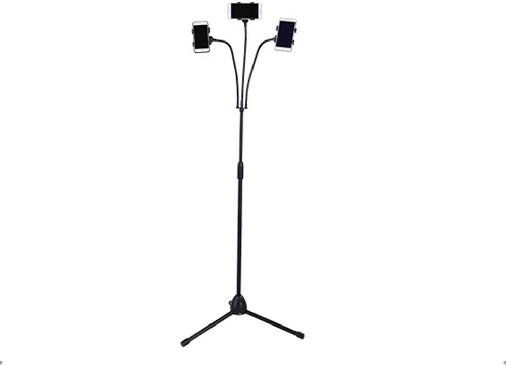 Three-position Mobile Phone Floor Type Live Stand Bedside Lazy Stand Outdoor Live Tripod