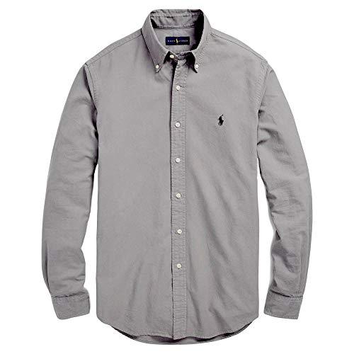 Ralph Lauren Men Solid Sport Oxford Shirt (XL, - Ralph Shirt Lauren Classic Fit