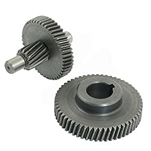 Electric Power Tool Angle Grinder Spiral Bevel Gear Set for Dragon 05-13 By Fuxell