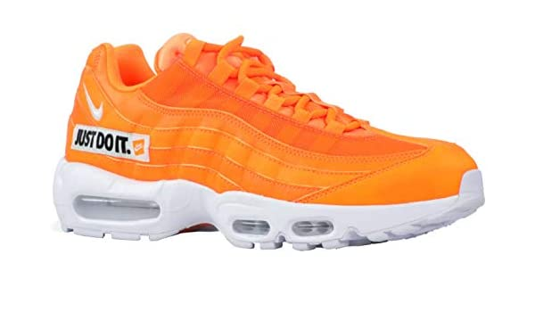 info for bdf99 40a0e Nike Men s Air Max 95 SE Total Orange White Black AV6246-800 (Size  6.5)