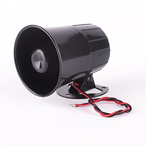 Iztoss Car Van Truck 6 Tone Loud Security Alarm Siren Horn 12V ES-H311