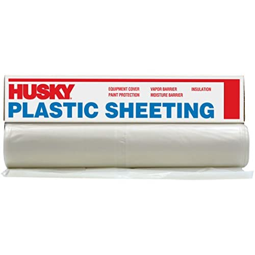 on sale Husky Plastic Sheeting Clear 6ml 6ftx100ft