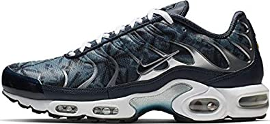 low priced 9627e 5c7da Amazon.com | Nike Air Max Plus TN SE Blue/Navy/White | We ...