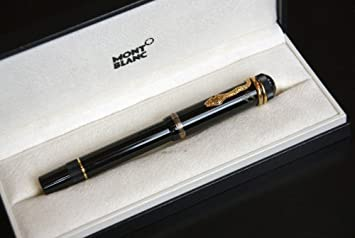 Mont Blanc Fountain Pen Agatha Christie Fp 4810 Ltd 1993 Edit Amazon Co Uk Office Products