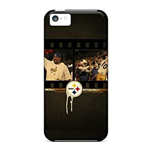 MarieFrancePitre Iphone 5c Best Hard Phone Cover Support Personal Customs Beautiful Pittsburgh Steelers Skin [sEV7218miuJ]