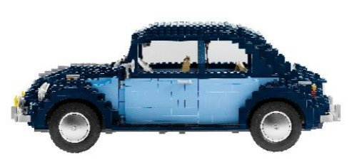 lego volkswagen beetle buy online in uae toy products. Black Bedroom Furniture Sets. Home Design Ideas