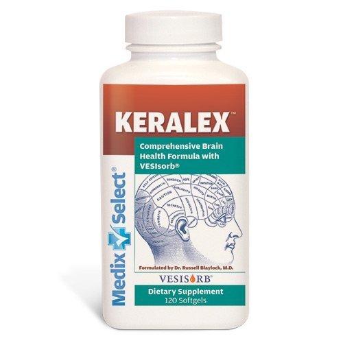 Keralex Brain Health Formula (90 Day Supply) by Medix Select