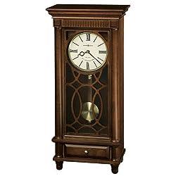 Howard Miller Lorna Mantel Clock in Tuscany Cherry Finish